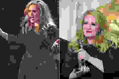 Xem màn trình diễn tuyệt vời của Adele tại lễ trao giải Oscar