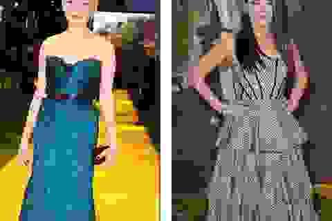 Michelle Williams mặc đẹp, Mila Kunis mặc xấu