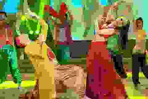 Yến Trang điêu luyện trong các bước nhảy