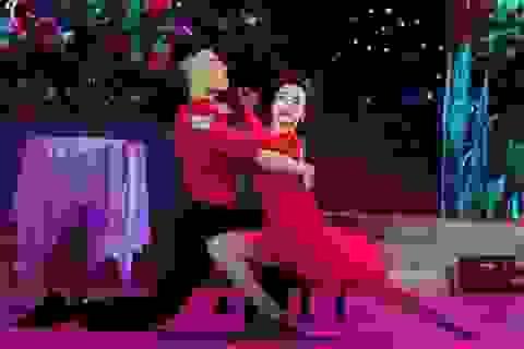 Thoải mái tâm lý, Yến Trang nhảy như chơi