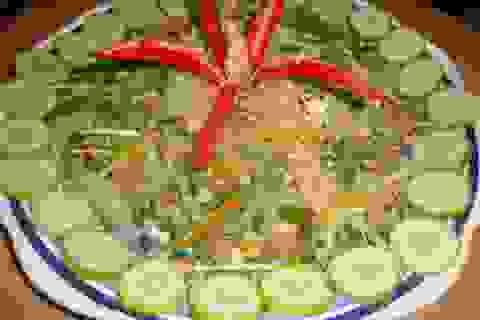 Giòn ngon món ăn từ sứa