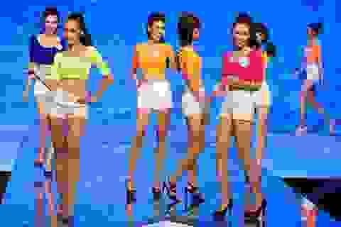 Hình ảnh đẹp trong chung kết Siêu mẫu Việt Nam 2013