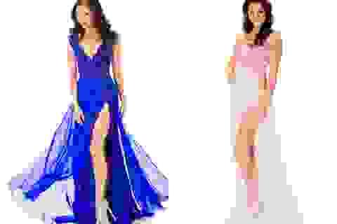 Ngắm váy dạ hội của mỹ nhân hoàn vũ