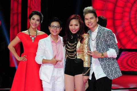 Lộ diện Top 4 Giọng hát Việt