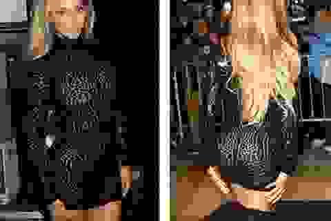 """Beyonce """"lộ"""" dáng săn chắc với váy ngắn bó sát"""