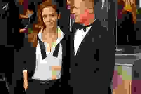 Brangelina đẹp đôi tại lễ trao giải của điện ảnh Anh quốc