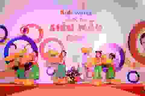 Ngày hội Mẹ & Bé tại Kids World: Hẹn hò chủ nhật cùng con yêu