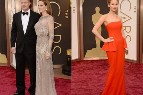 Kiều nữ lộng lẫy trên thảm đỏ Oscar