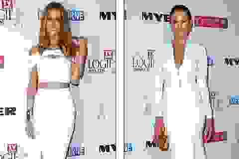 Cựu hoa hậu hoàn vũ tinh khôi với váy trắng