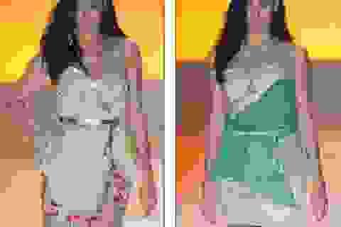 Irina Shayk đẹp như tượng trên sàn catwalk