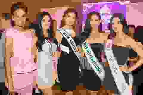 Hoa hậu hoàn vũ rạng rỡ tại Philippines