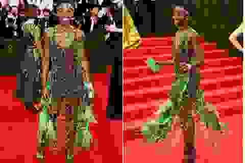 Người đẹp nhất thế giới mặc váy xuyên thấu nổi bật trong gala thời trang
