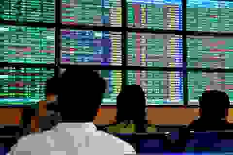 VN-Index tăng gần 10 điểm, dòng tiền sụt giảm 50%