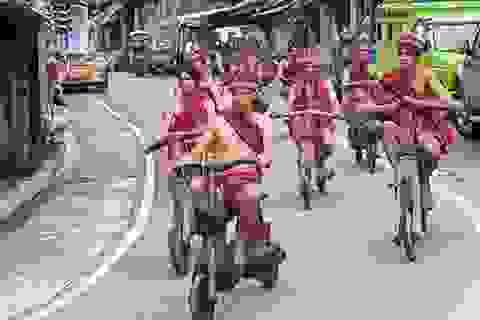 Cuộc đua xe gỗ độc đáo chỉ có ở Philippines