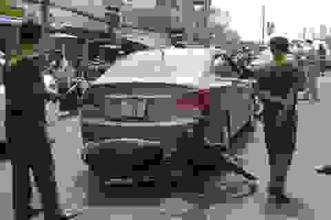Khởi tố nữ tài xế lái xe bỏ chạy khi công an kiểm tra giấy tờ