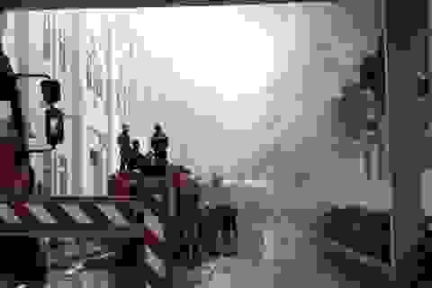 Cháy lớn tại xưởng sản xuất linh kiện thuộc KCN Quế Võ