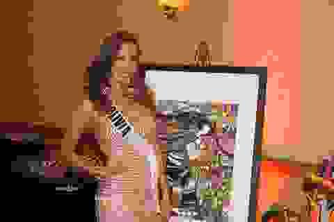 Người đẹp hoàn vũ dự gala đấu giá từ thiện