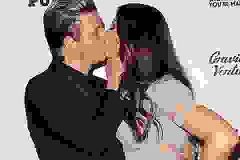 Nick Carter hạnh phúc hôn vợ khi dự sự kiện
