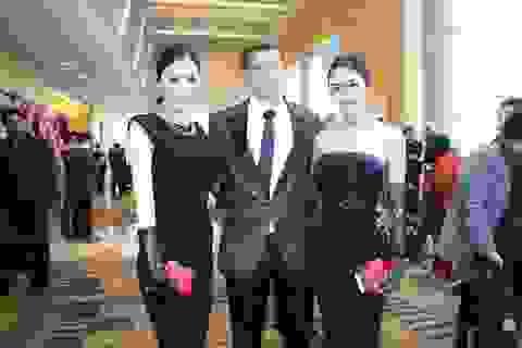 Linh Chi và Tường Vy nổi bật trong đêm chung kết siêu mẫu quốc tế
