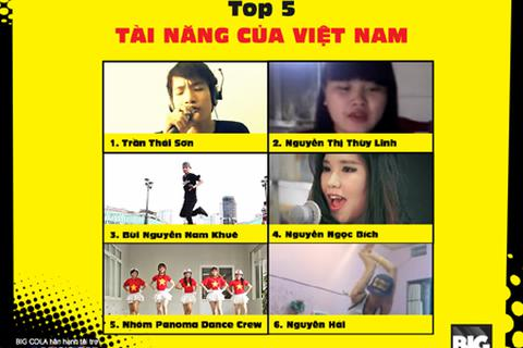 5 tài năng Việt tỏa sáng