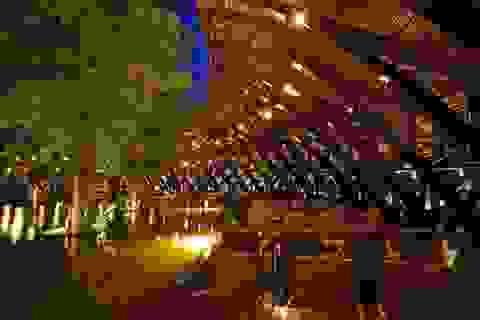 """Độc đáo nhà hàng """"Kiến trúc xanh"""" lần đầu tiên xuất hiện tại Hà Nội"""
