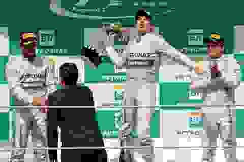 Chiến thắng tuyệt đối của Nico Rosberg