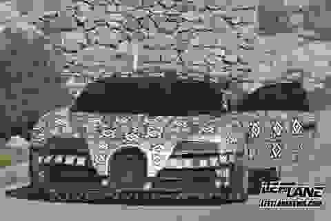 Bugatti chạy thử siêu xe thay thế Veyron