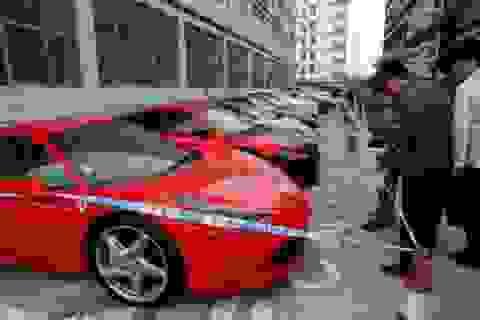 Cảnh sát Hồng Kông tạm giữ hàng loạt siêu xe