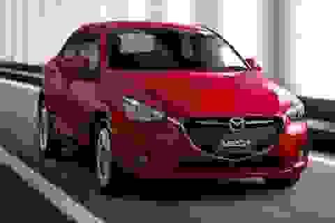 Lộ diện Mazda2 phiên bản sedan