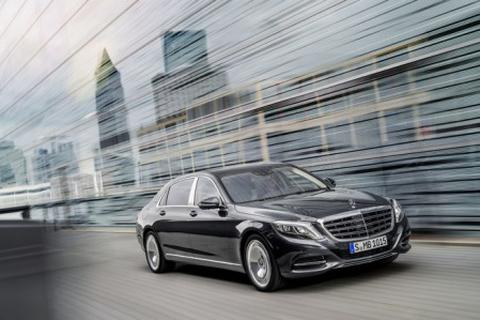 Mercedes báo giá S500 và S600 phiên bản Maybach