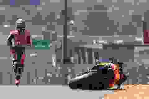 Những tai nạn trên trường đua MotoGP chặng 5