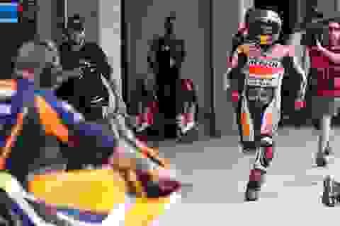 Marc Marquez có được pole đầu tiên trong mùa giải MotoGP 2015