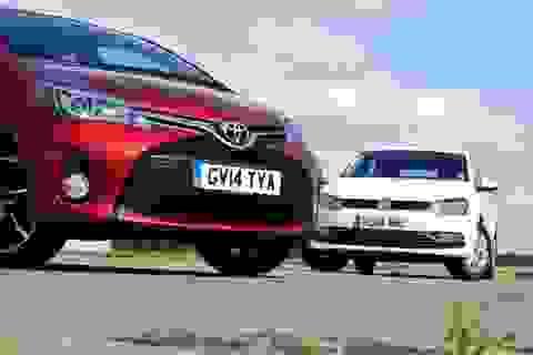 """Toyota vẫn giữ """"ngôi vương"""", Volkswagen bám sát"""