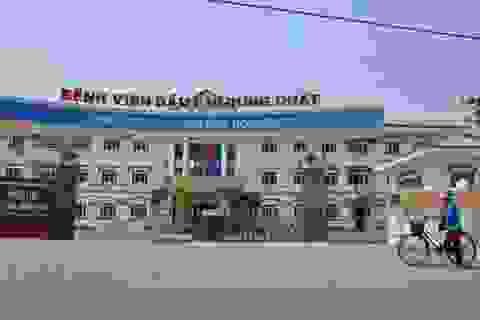 Bệnh viện Dầu khí Dung Quất hoạt động trở lại từ đầu năm 2015