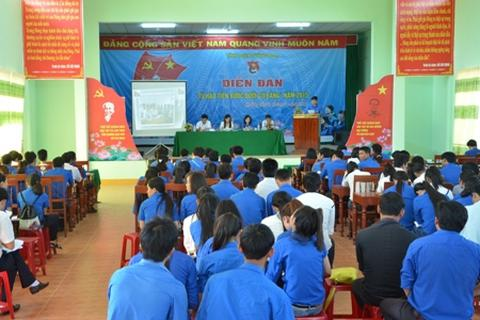 Tuổi trẻ Quảng Ngãi thể hiện ý kiến trước kỳ Đại hội Đảng bộ tỉnh