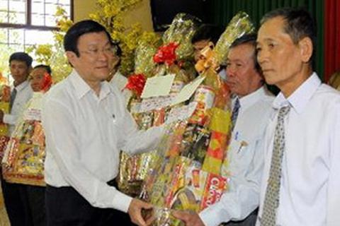 Chủ tịch nước thăm và làm việc tại tỉnh Đồng Tháp
