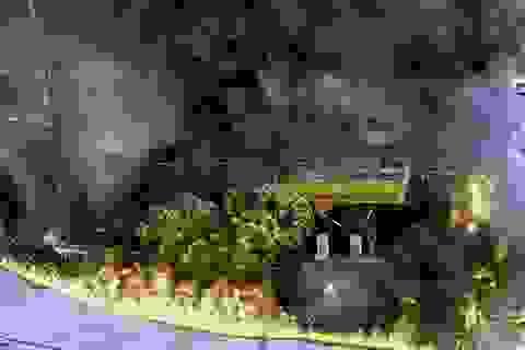 """Vụ cháy cây xăng gần viện 108: """"Lửa bốc lên từ gần lò than"""""""