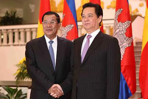 VN-Campuchia không để bên ngoài dùng lãnh thổ phương hại nhau