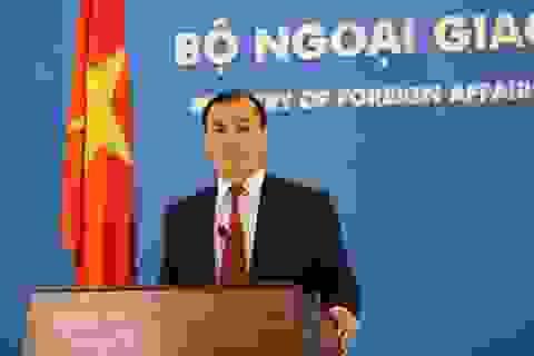 Ông Lê Hải Bình làm Người phát ngôn Bộ Ngoại giao Việt Nam