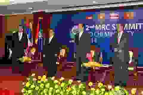 Thủ tướng tiếp xúc song phương bên lề Hội nghị MRC