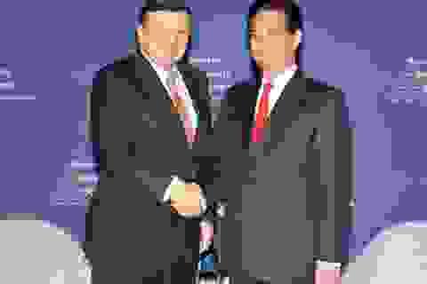 Thủ tướng Nguyễn Tấn Dũng tiếp Chủ tịch EC