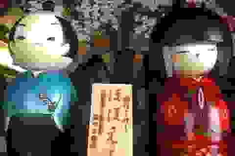 Búp bê Kokeshi - Đồ chơi thôn quê của xứ sở hoa anh đào