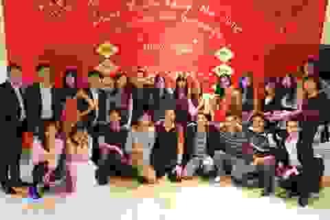 Không khí đón Tết của sinh viên Việt Nam tại thành phố Poitiers Pháp