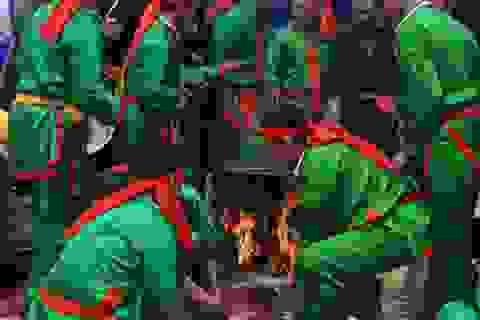 Độc đáo lễ hội Chạy lợn ở Hà Nội