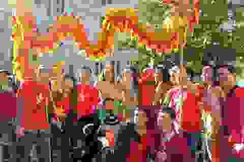 Du học sinh Việt hòa chung không khí Carnaval de Blois 2014