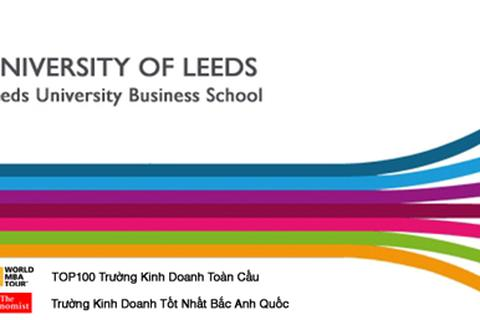 Học bổng trường Kinh doanh hàng đầu thế giới – Leeds Business School