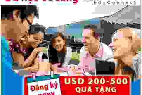 Tặng USD 200-500 khi du học Úc trong năm 2014