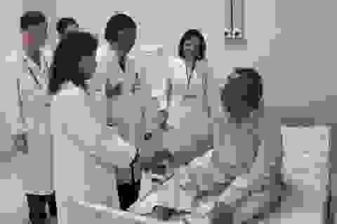 Cấp cứu một đại biểu quốc tế bị tăng huyết áp và đường huyết