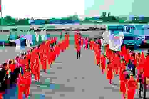 Hơn 20 địa phương tham gia Hành trình đỏ