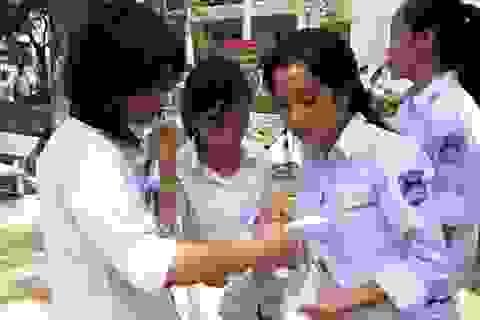 """Ninh Bình: Hơn 700 thí sinh """"chạy đua"""" vào trường chuyên"""